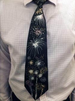 Fireworks tie model