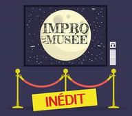 """affiche du spectacle d'impro """"impro musée"""""""