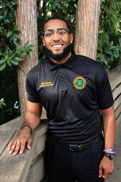 Reuel was an member of the John T. Washington Honor Society where he served as Secretary. He was also a recipient of the Outstanding Service award.