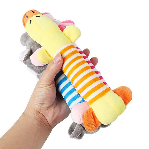 Duck, pig and elephant Chew toys (Sold in Packs)