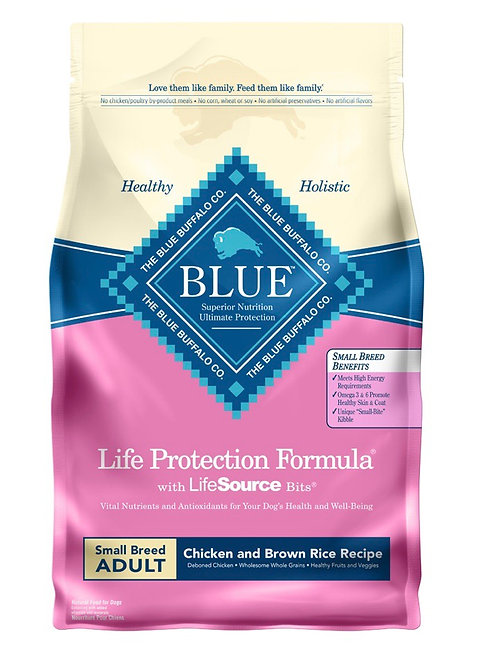 Blue Buffalo Life Protection Formula with Life Source Bits dry Dog Food 6 Ib