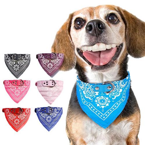 Dog Scarf Neckarchief Bandana Triangle Bibs