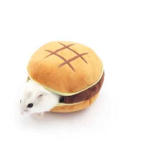 Hamster House Bed Hamburger Design