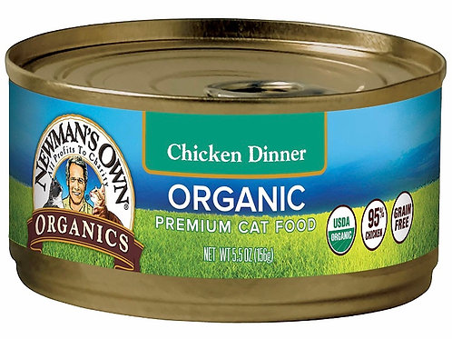 Cat Food organic chicken dinner (Sold in Packs) 🐱