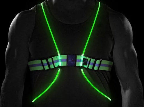 Road Safety Reflective LED vest for pet Owners