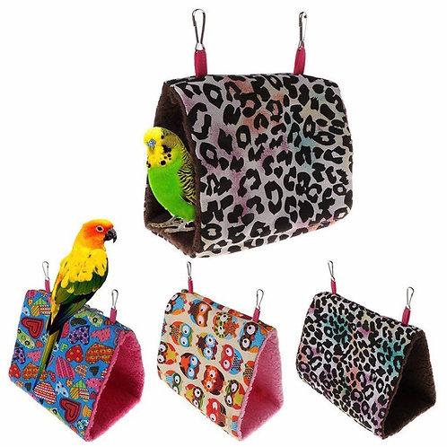Brand Luxury Plush Bird Hanging Cave Cage