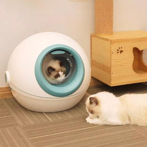 Brand Luxury cat toilet litter Box.