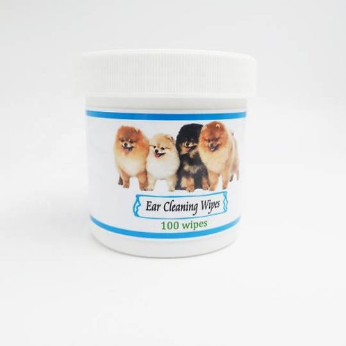 Cats and dogs ear cleaning wipes