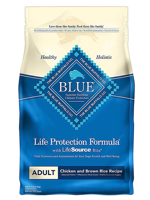 Blue Buffalo Life Protection Formula Adult Dry Dog Food 6 Ib