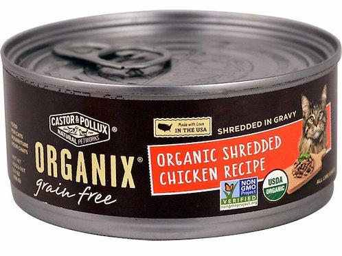 Castor & Pollux Organix® Grain Free Adult Cat Food Organic Shredded Chicken 5.5