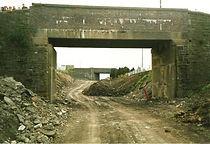 Gordon Terr Bridge,Background - Blaenaf