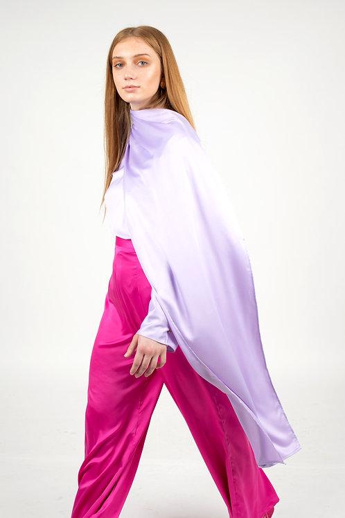 Lavanda Silk Blouse