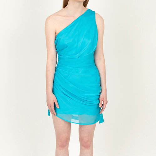 Oceanus Draped Dress