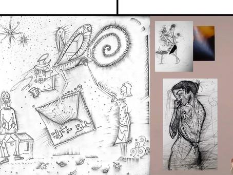 გრაფიკულ ჟანრში ვხატავ და შავ-თეთრი ფიგურები მაინც ცოცხლები რჩებიან ❚ Andrew Fann