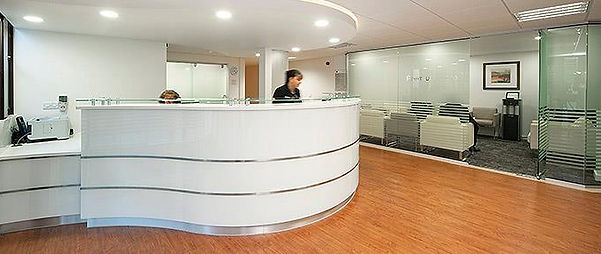 Duchy Hospital Reception