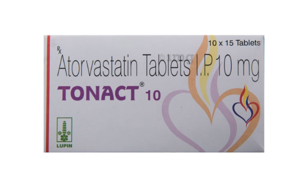 아토르바스타틴  TONACT 10mg