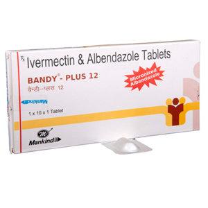 이버멕틴12mg+알벤다졸400mg 반디-플러스12
