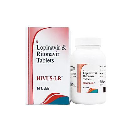 칼레트라 HIVUS-LR 로피나비어 200mg + 리토나비르 50mg