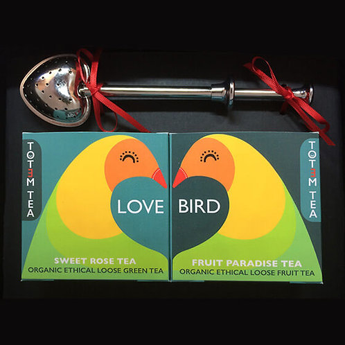 Love Bird tea gift set