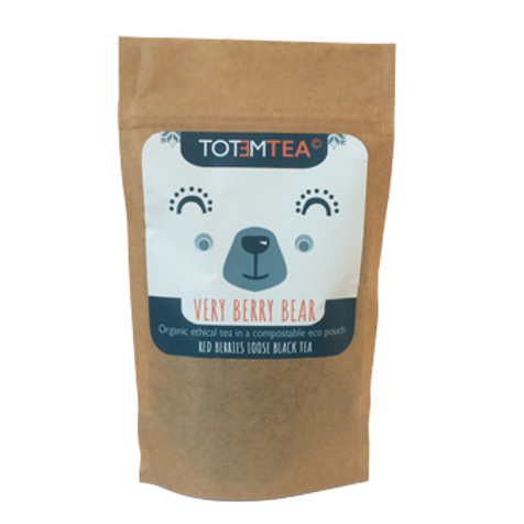 VERY BERRY BEAR- Red berries black tea