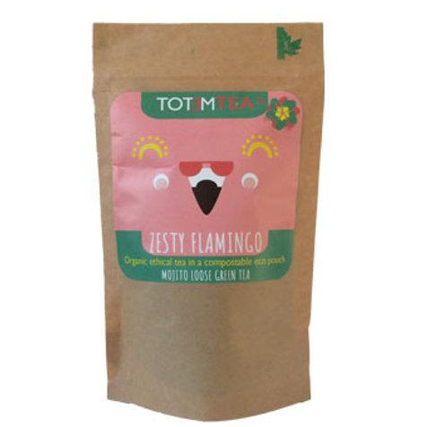 ZESTY FLAMINGO- Mojito Green Tea