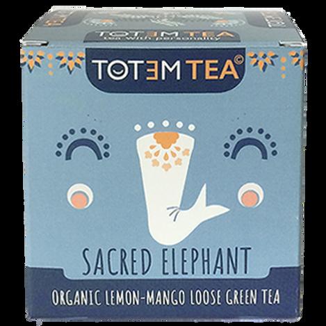 SACRED ELEPHANT- Mango,Lime green tea