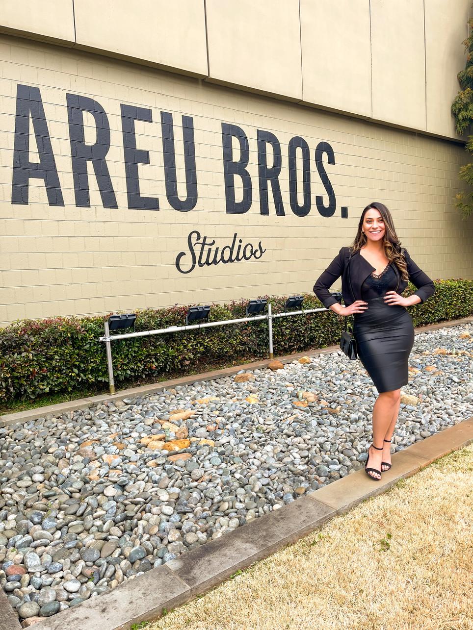 Meeting With Ozzie Areu CEO of Areu Bros Studios.