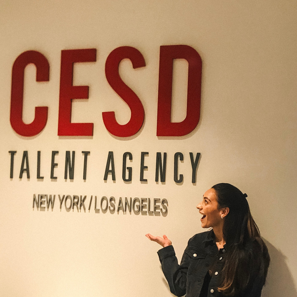 Signed Across the Board with CESD!