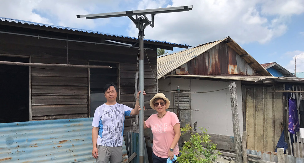 為海島居民安裝太陽能