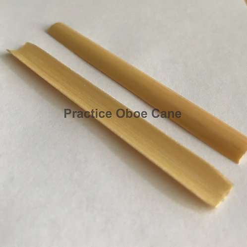 Practice Oboe Cane - Gouged only