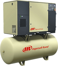 screw compressors, tank mounted, rotary screw compressors, ingersoll rand compressors