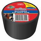Black Polythene Tape 48mm x 30m