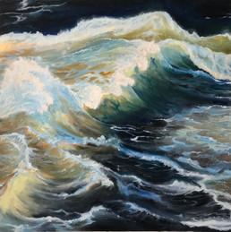 Ocean Oil Painting