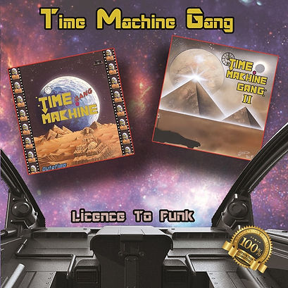 time machine gang, licence to funk, cd funkysize records