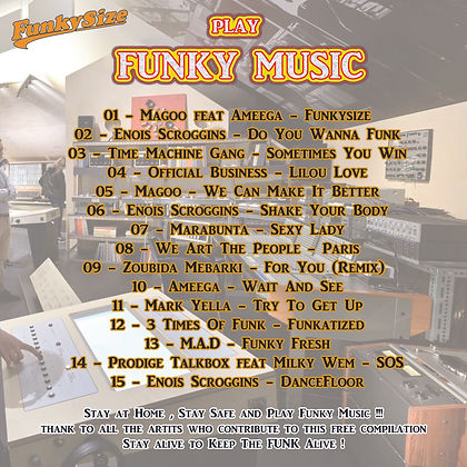 Funkysize Records - Play Funky Music - C