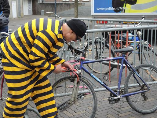 Veilig fiets parkeren