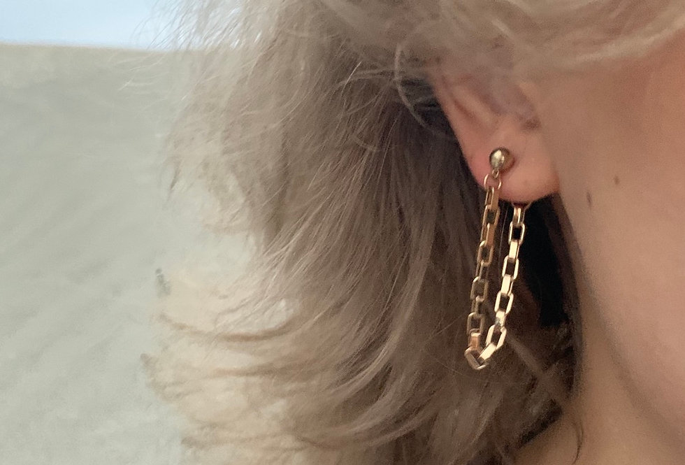 Linked Chain Earrings