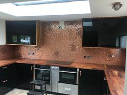 multiple ammonite kitchen