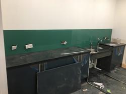 dark green under construction