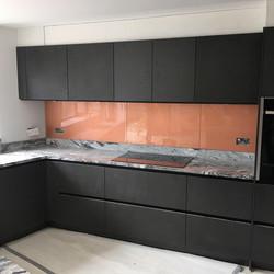 Copper textured - black units