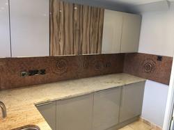 ammonite white kitchen