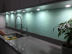 Sea green sink 1