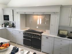 Grey untextured cooker