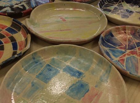 陶芸教室 〜小皿の焼き上がり♪〜