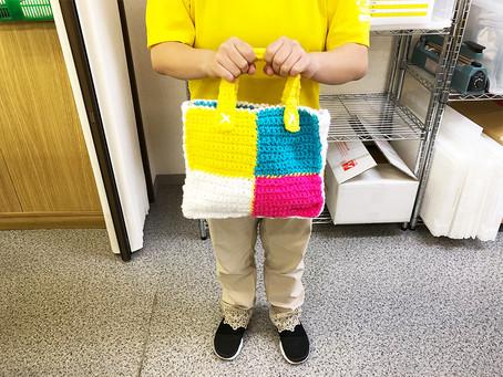 ひなげしのクラフト〜編み物作った