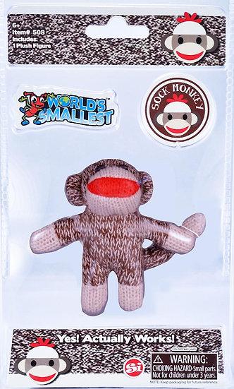 World's Smallest - Sock Monkey