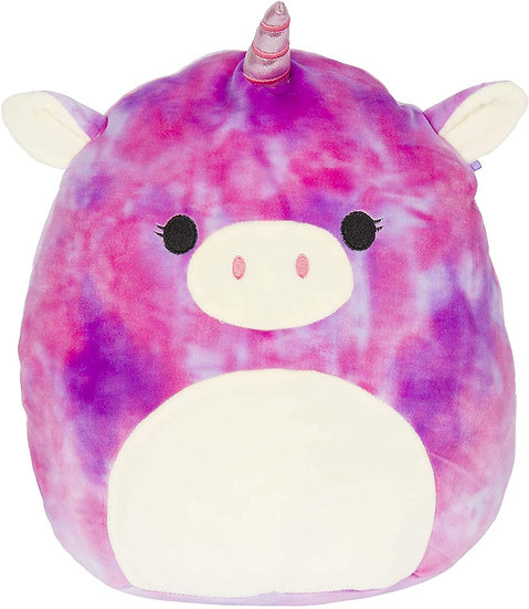 "Squishmallow - 7"" Lola The Pink Unicorn"