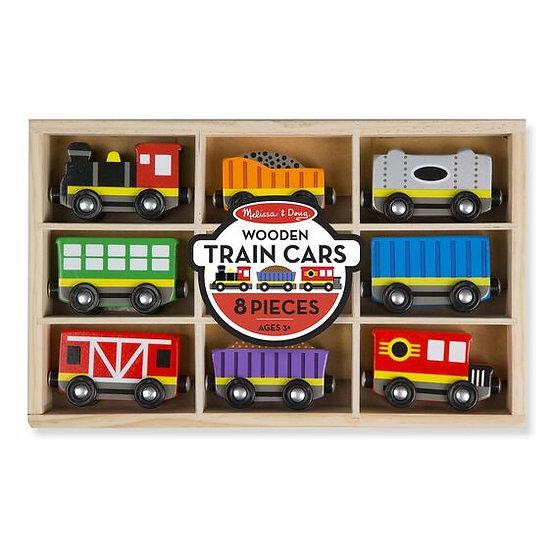 Wooden Train Cars Melissa & Doug