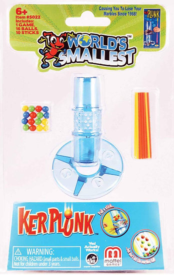 World's Smallest - Kerplunk