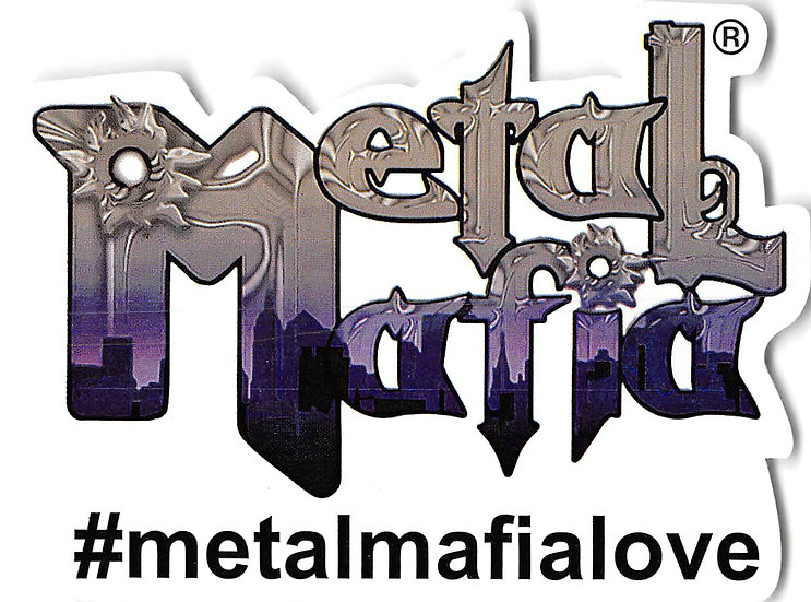Metal Mafia Sticker